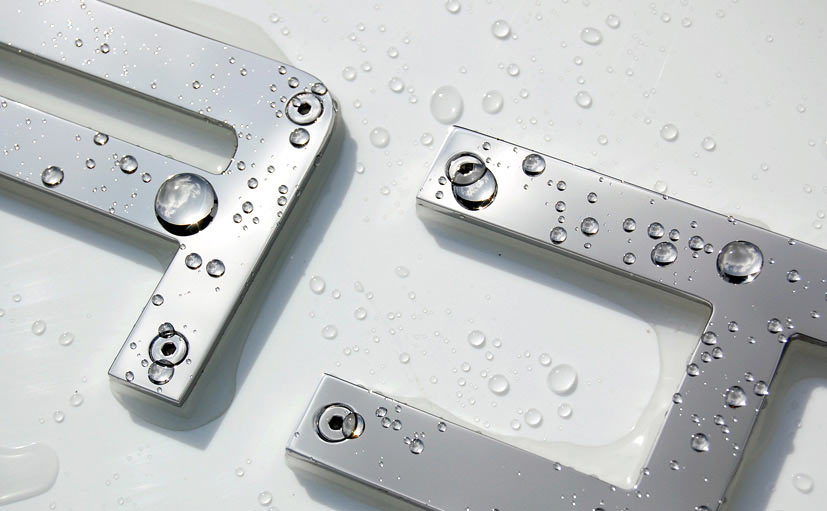 Stainless steel yacht lettering fixings