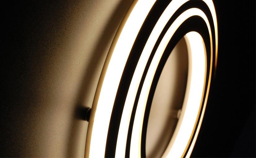 illuminated yacht font