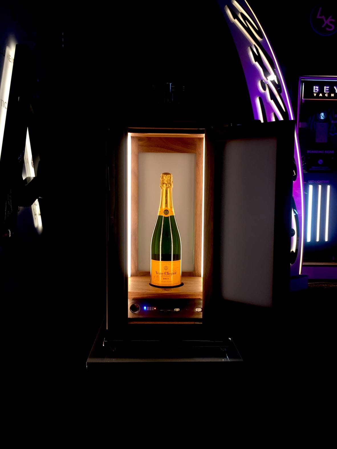 Illuminated Veuve Clicquot