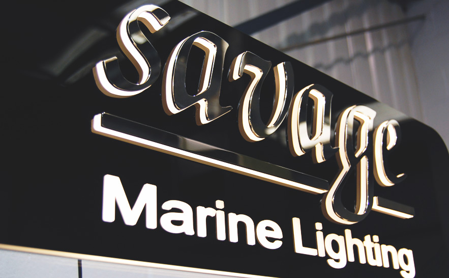 Architectural LED Signage for Businesses Image
